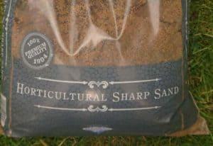 Horticultural sand